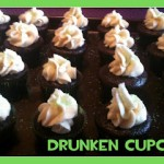 Drunken St. Patty's Day Cupcakes